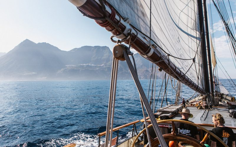 CANARY ISLANDS EXPLORING UNDER SAIL